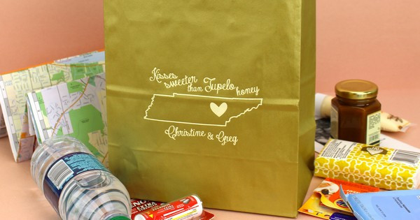 Best ideas about Wedding Hotel Gift Bag Ideas . Save or Pin State by State Souvenir Ideas for Wedding Wel e Gift Bags Now.