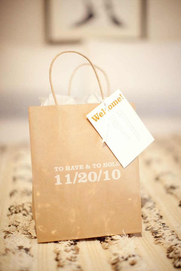 Best ideas about Wedding Hotel Gift Bag Ideas . Save or Pin Wel e Bags for Out of Town Wedding Guests Now.