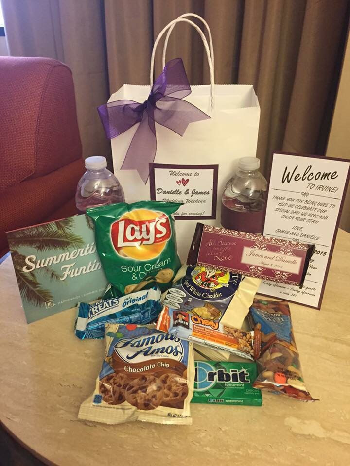 Best ideas about Wedding Hotel Gift Bag Ideas . Save or Pin 25 Best Ideas about Wedding Hotel Bags on Pinterest Now.