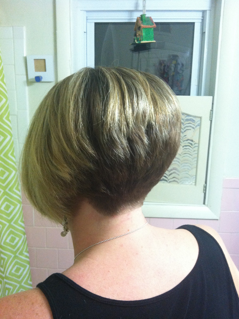 Best ideas about Wedged Bob Haircuts . Save or Pin Stacked Wedge Haircut s Back View Now.