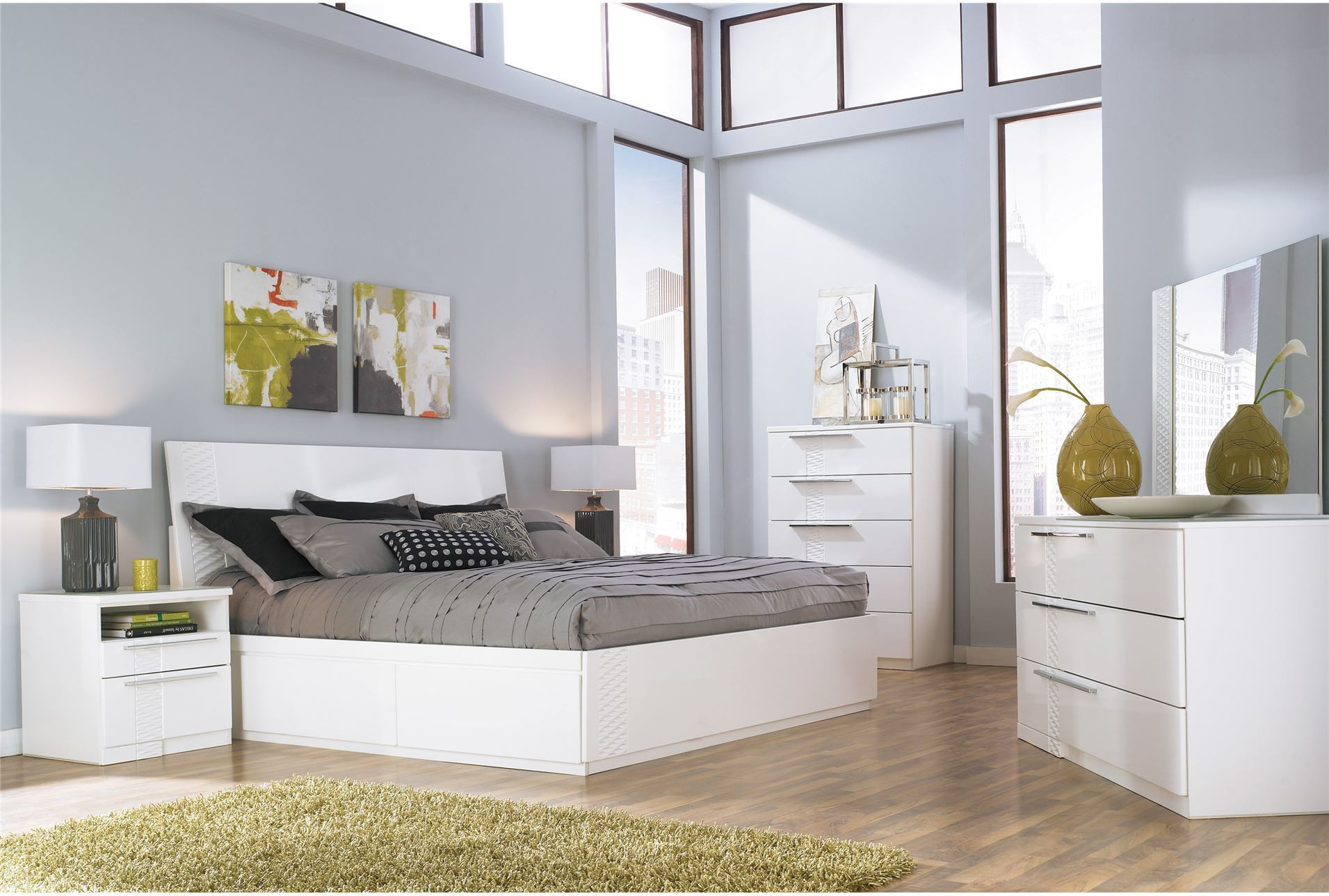 Best ideas about White Queen Bedroom Set . Save or Pin 7 Beautiful White Queen Size Beds From US Stores Cute Now.