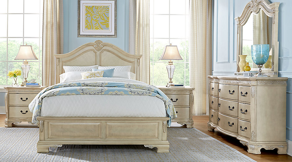Best ideas about White Queen Bedroom Set . Save or Pin Cortinella White 5 Pc Queen Panel Bedroom Queen Bedroom Now.