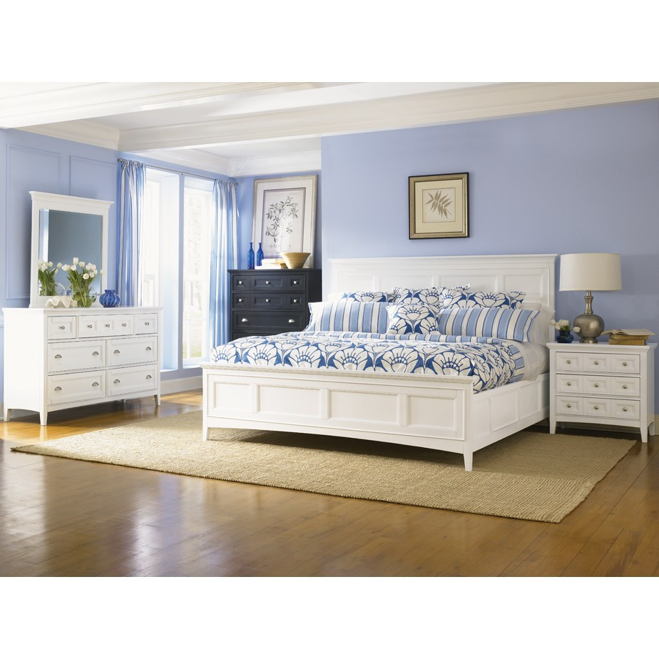 Best ideas about White Queen Bedroom Set . Save or Pin Warehouse Furniture Warehouse Furniture Magnussen 4pc Now.