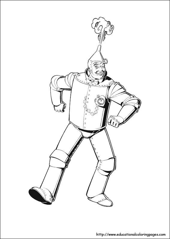 Best ideas about Wizard Of Oz Characters Free Coloring Sheets . Save or Pin Wizard Oz Coloring Pages free For Kids Now.