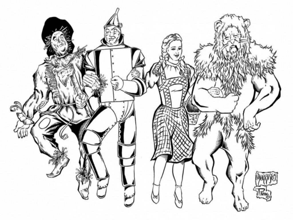 Best ideas about Wizard Of Oz Characters Free Coloring Sheets . Save or Pin Fine Art Coloring Sheets Now.