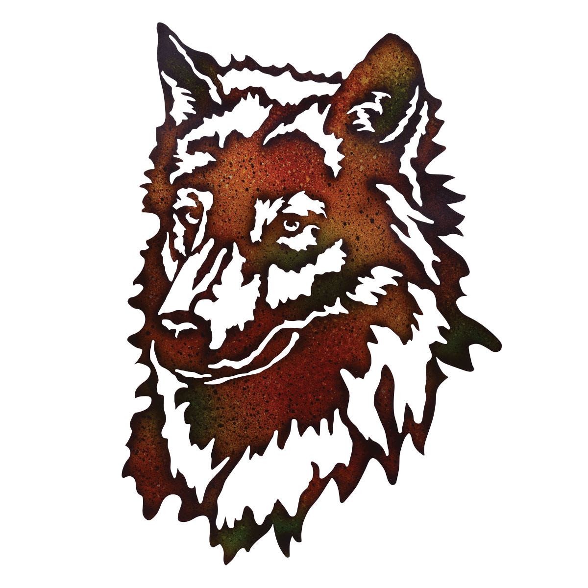 Best ideas about Wolf Wall Art . Save or Pin Wolf Metal Wall Art Now.