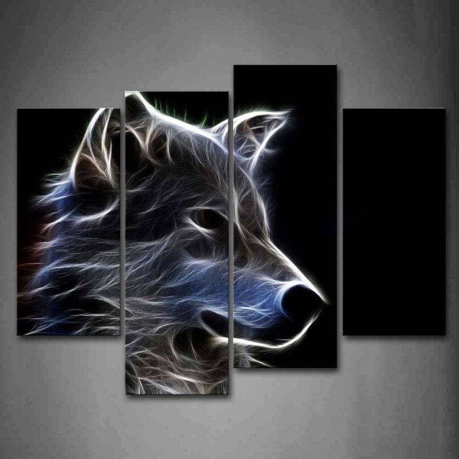 Best ideas about Wolf Wall Art . Save or Pin Best 20 of Wolf 3D Wall Art Now.