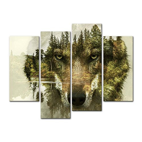 Best ideas about Wolf Wall Art . Save or Pin Magnificent Captivating and Alluring Wolf Wall Decor Now.