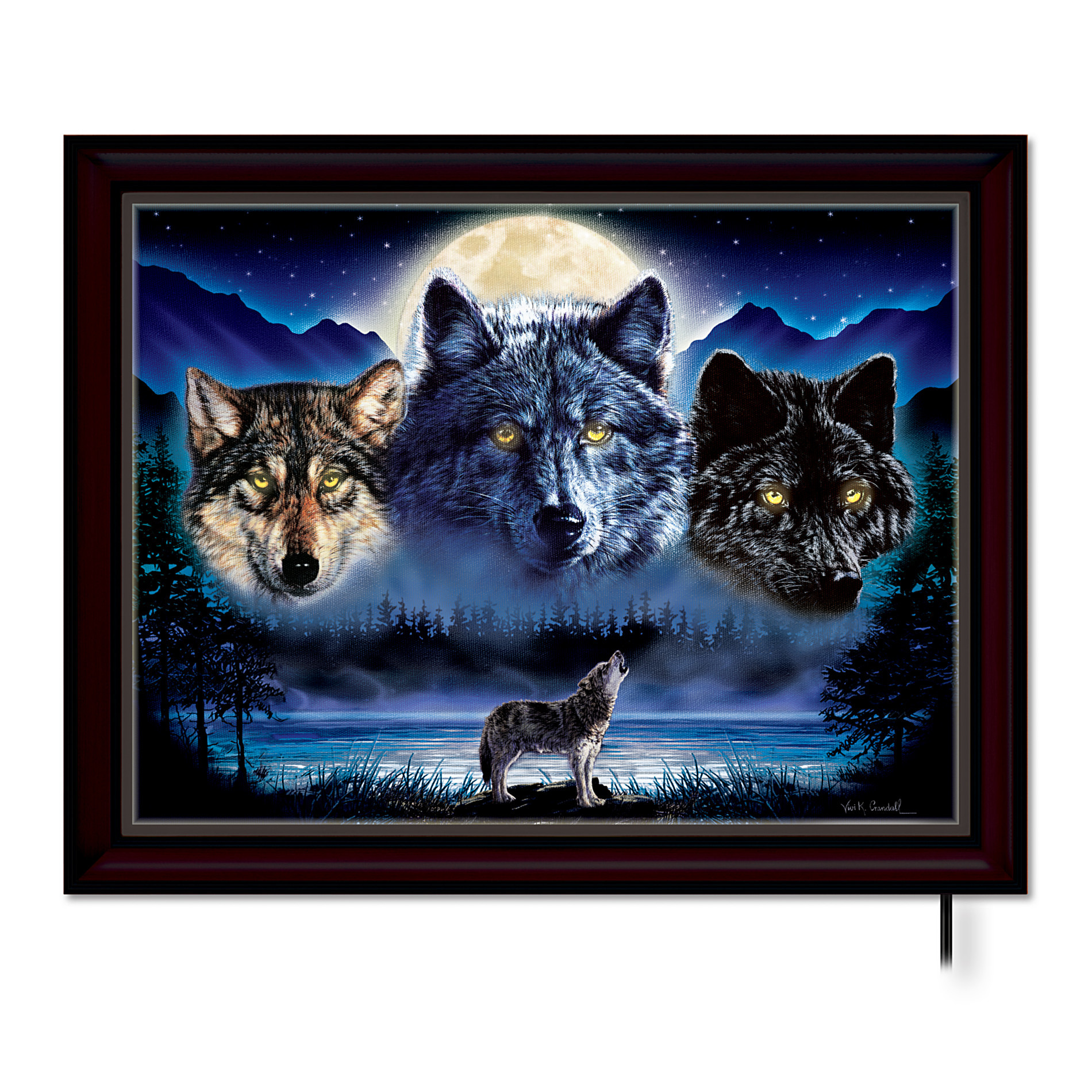 Best ideas about Wolf Wall Art . Save or Pin The Bradford Exchange Spirits The Pack Stained Glass Now.