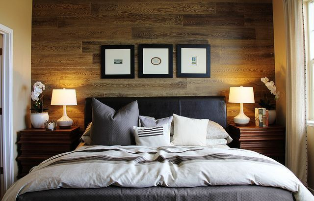 Best ideas about Wood Accent Wall Bedroom . Save or Pin 18 best images about Wood accent wall on Pinterest Now.