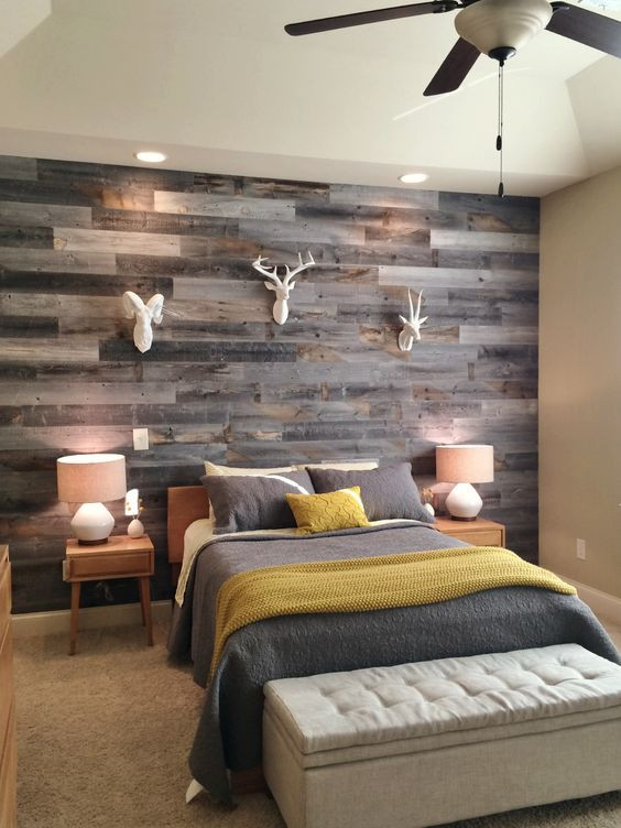 Best ideas about Wood Accent Wall Bedroom . Save or Pin 30 Wood Accent Walls To Make Every Space Cozier DigsDigs Now.