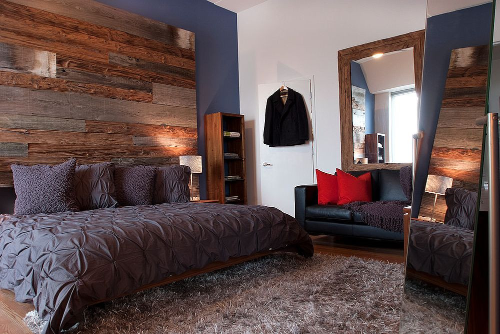 Best ideas about Wood Accent Wall Bedroom . Save or Pin 25 Awesome Bedrooms with Reclaimed Wood Walls Now.