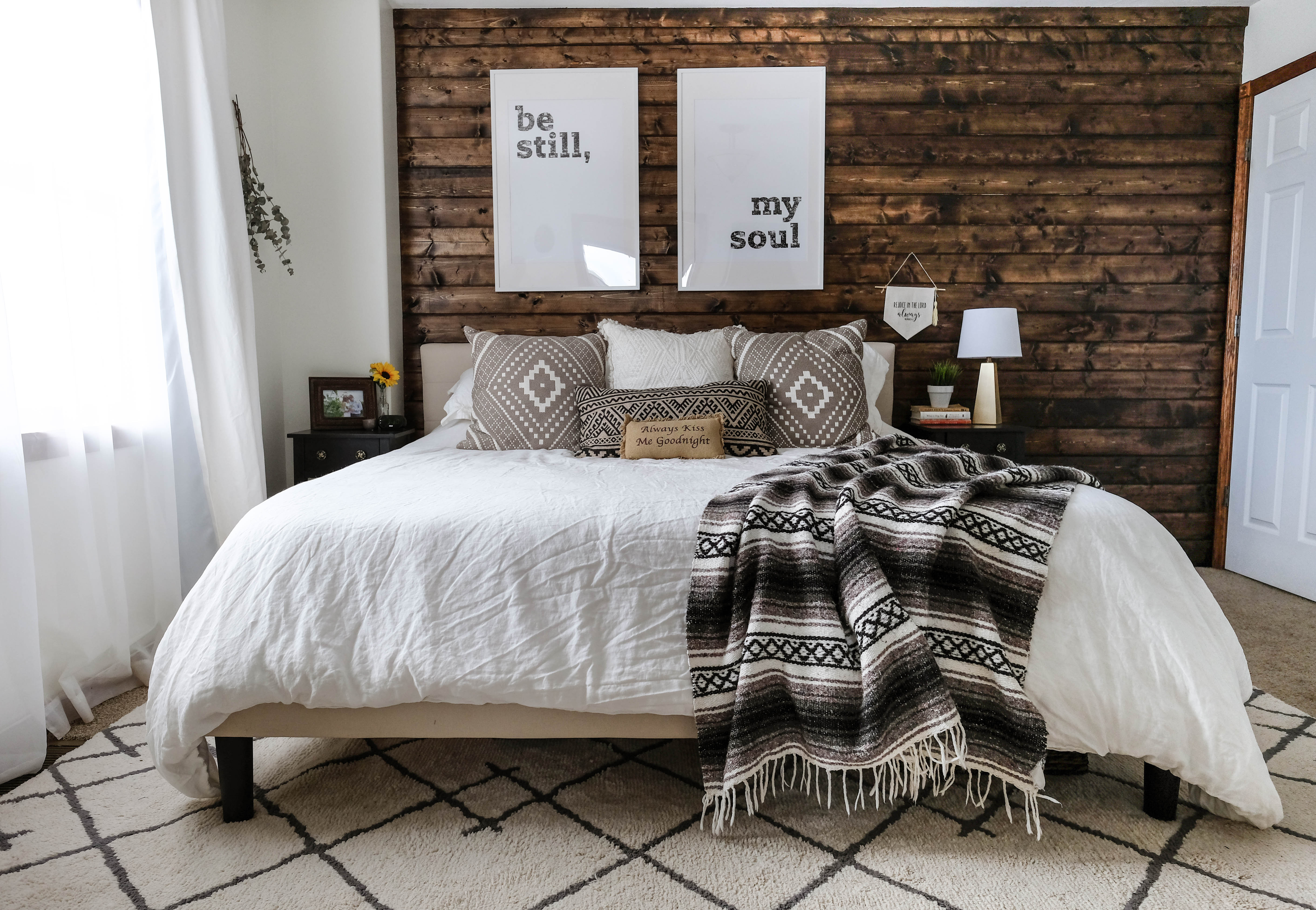 Best ideas about Wood Accent Wall Bedroom . Save or Pin How To Build A Wood Plank Accent Wall Now.