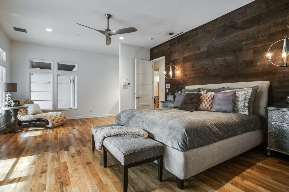 Best ideas about Wood Accent Wall Bedroom . Save or Pin Bright minka aire ceiling fansin Bedroom Contemporary with Now.