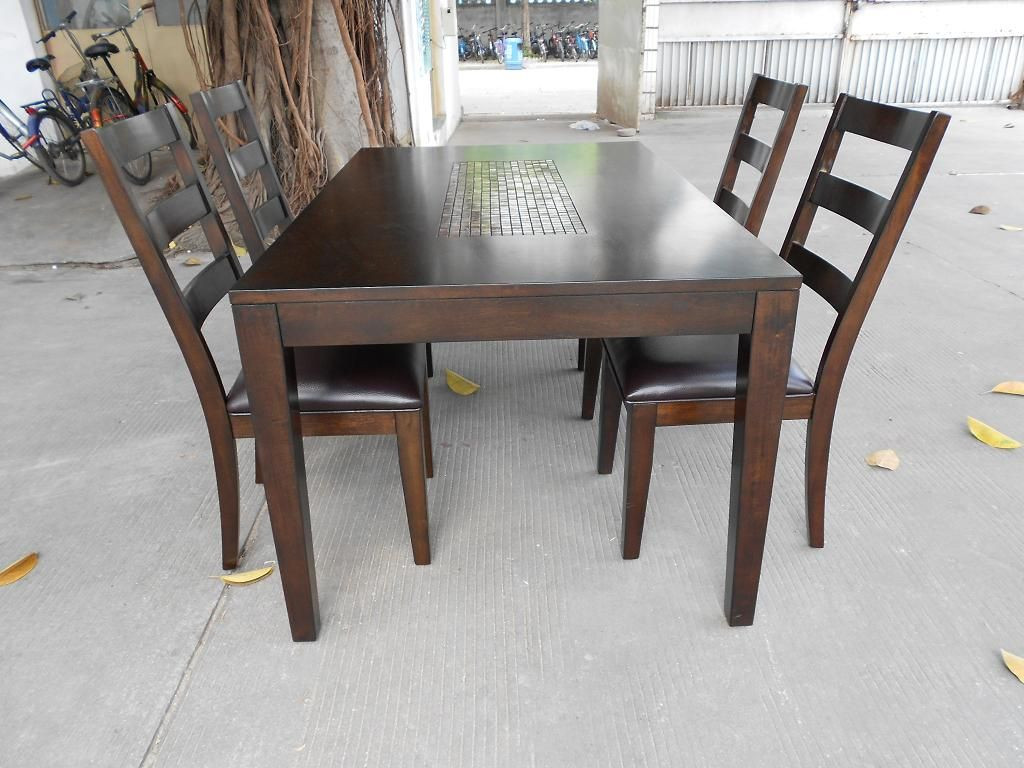 Best ideas about Wood Dining Table Set . Save or Pin Real Wood Dining Table Review Now.