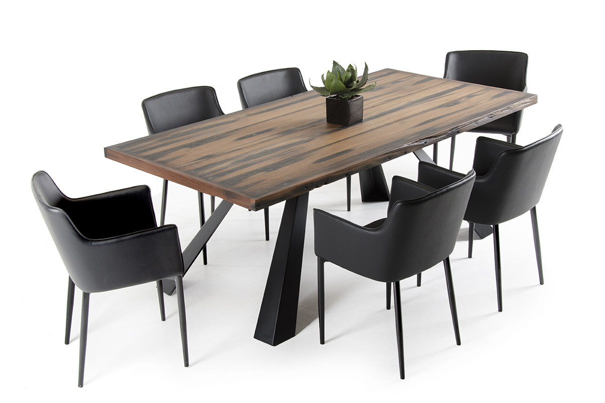 Best ideas about Wood Dining Table Set . Save or Pin Modrest Norse Modern Reclaimed Wood Dining Set Now.