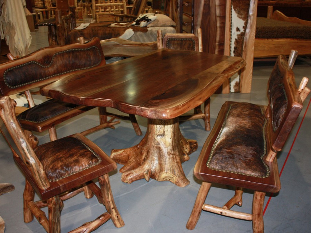Best ideas about Wood Dining Table Set . Save or Pin Popular Kitchen Solid Oak Dining Room Sets Renovation with Now.