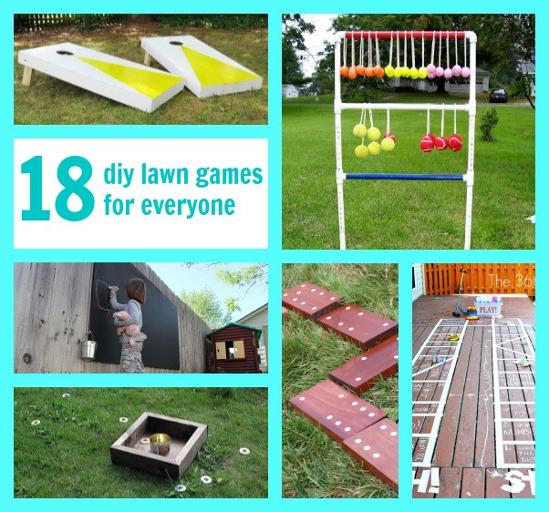 Best ideas about Yard Games DIY . Save or Pin 21 DIY Lawn Games C R A F T Now.