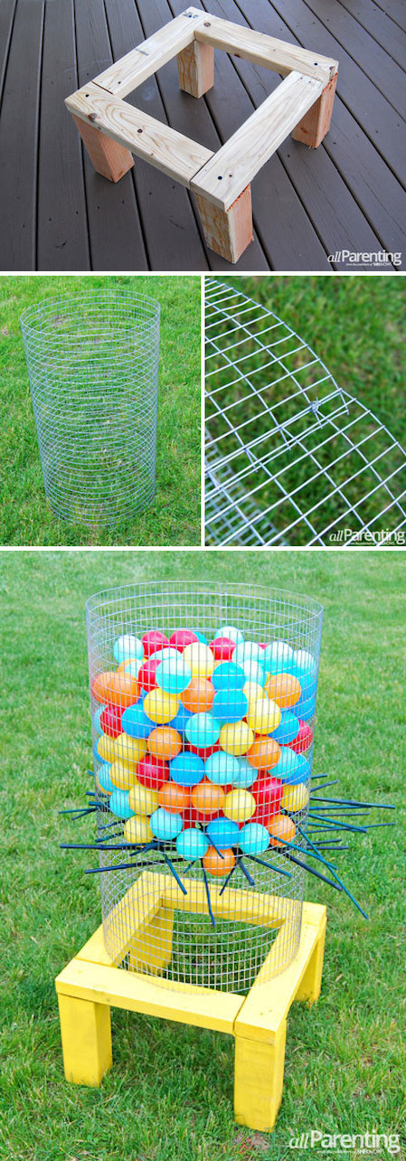 Best ideas about Yard Games DIY . Save or Pin 32 Fun DIY Backyard Games To Play for kids & adults Now.