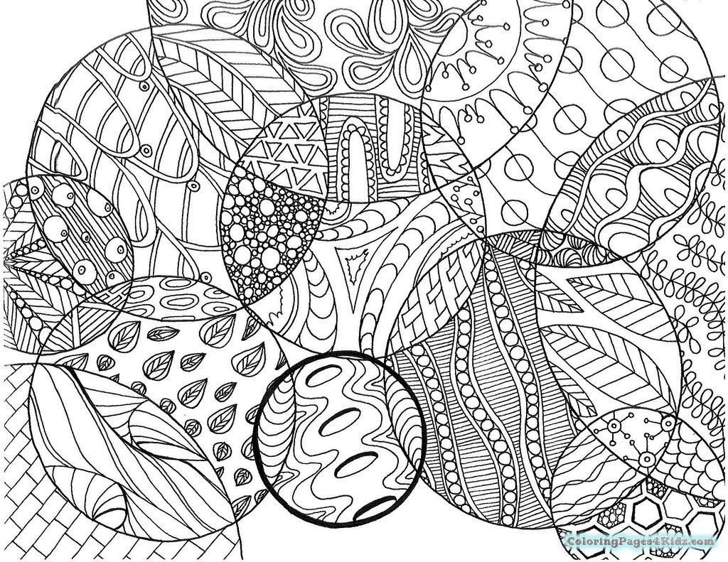 Best ideas about Zentangle Coloring Pages For Kids . Save or Pin Hard Zentangle Coloring Pages S Now.