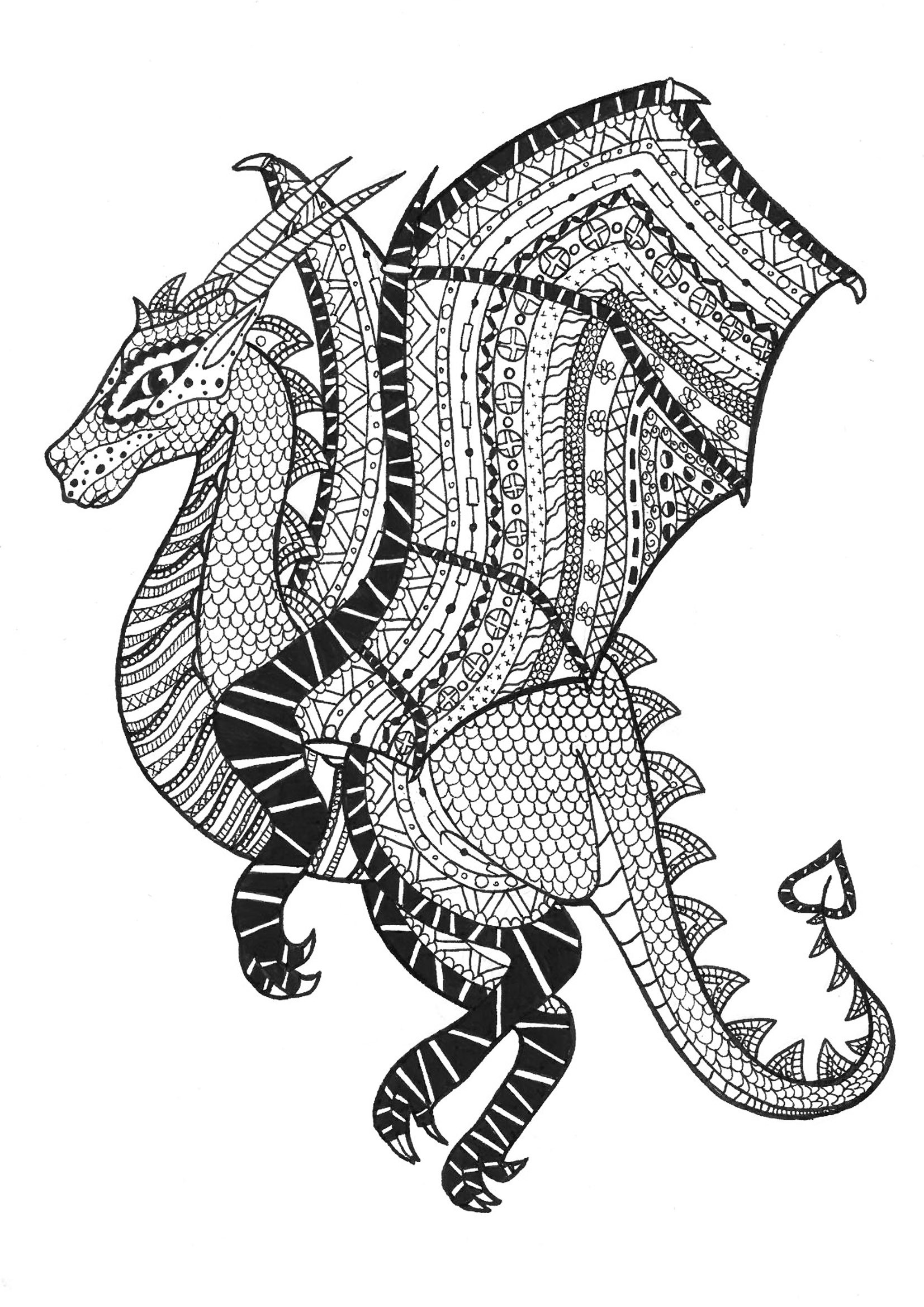 Best ideas about Zentangle Coloring Pages For Kids . Save or Pin Zentangle to print Zentangle Kids Coloring Pages Now.