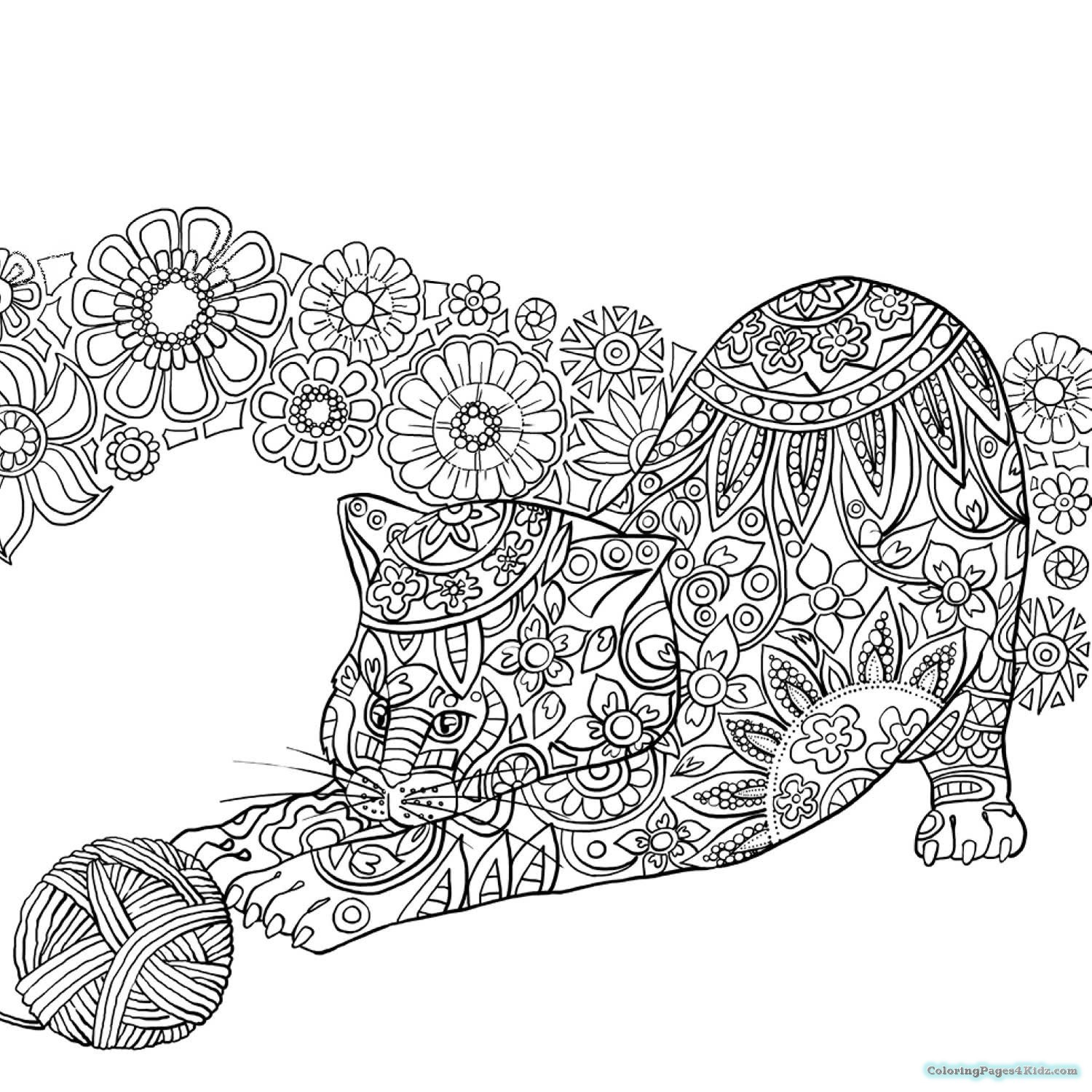 Best ideas about Zentangle Coloring Pages For Kids . Save or Pin Hard Zentangle Coloring Pages Now.