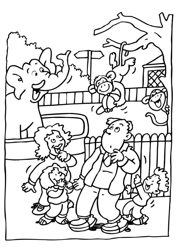 Best ideas about Zoo Animals Printable Coloring Pages . Save or Pin Free Printable Zoo Coloring Pages For Kids Now.