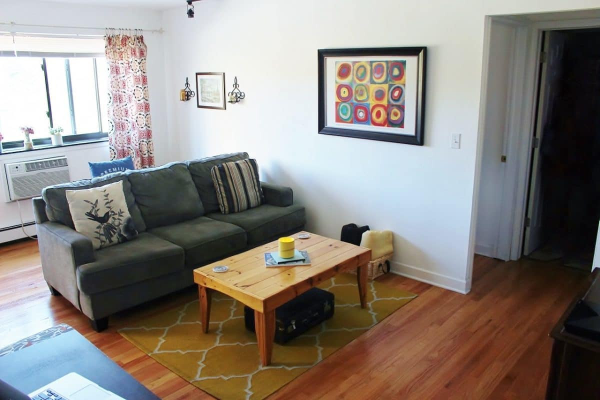 Best ideas about 1 Bedroom Apt In Chicago . Save or Pin e Bedroom Chicago Apartment Tour Crafty Coin Now.