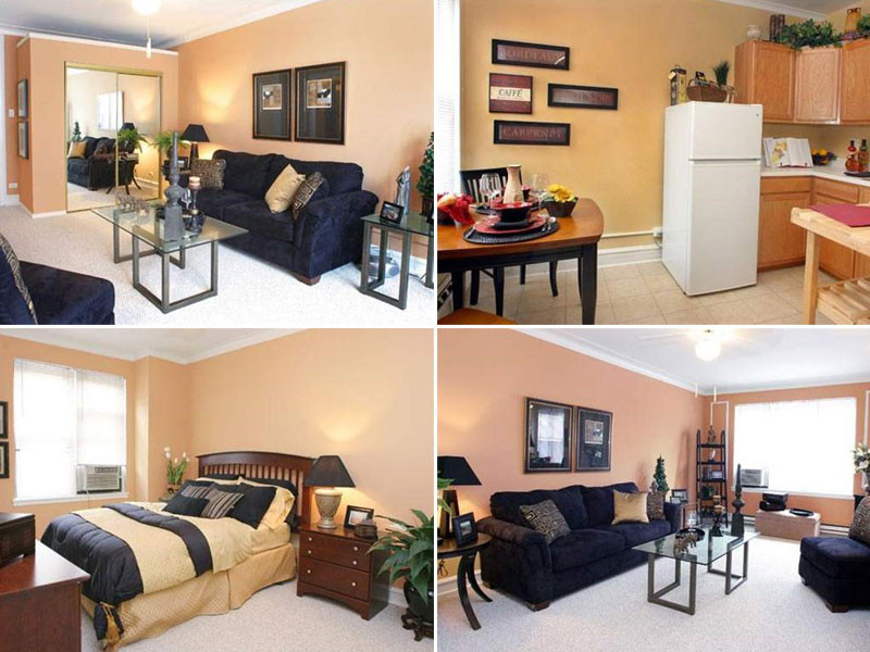 Best ideas about 1 Bedroom Apt In Chicago . Save or Pin 5 Chicago Apartments You Can Get Around $1 200 Month Now.