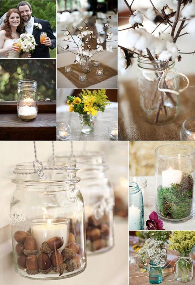 Best ideas about 101 DIY Mason Jar Wedding Ideas . Save or Pin DIY Mason Jar Wedding Ideas 24 Pics Now.