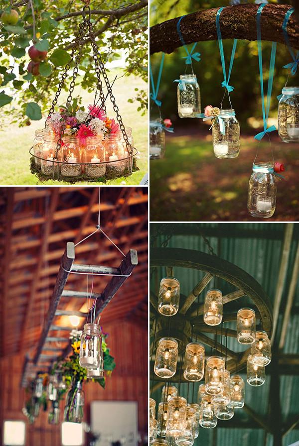 Best ideas about 101 DIY Mason Jar Wedding Ideas . Save or Pin Rustic Wedding Ideas 30 Ways To Use Mason Jars Now.
