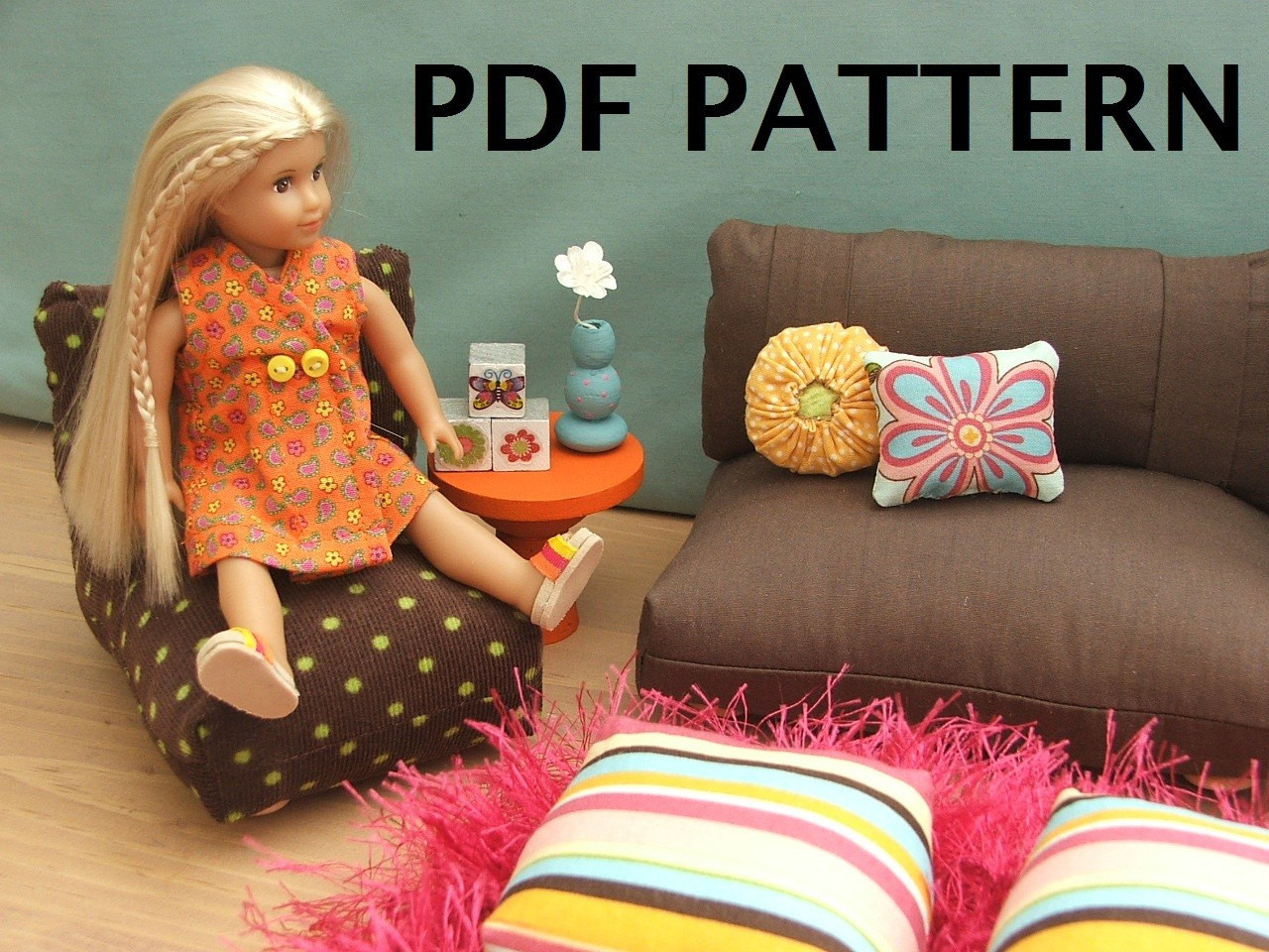 Best ideas about 18 Inch Doll Furniture DIY . Save or Pin Fits Mini Doll American Girl our generation mini doll Now.
