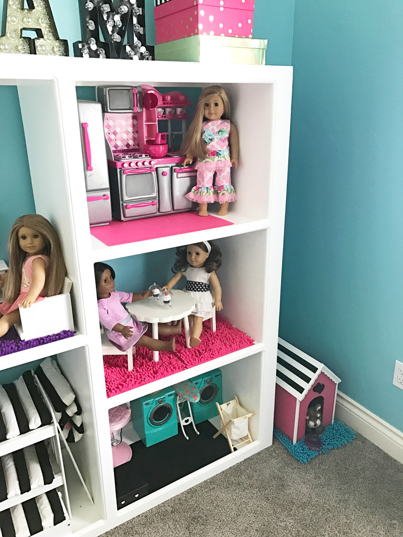 Best ideas about 18 Inch Doll Furniture DIY . Save or Pin How To Make A DIY American Girl Doll House From An Old Now.