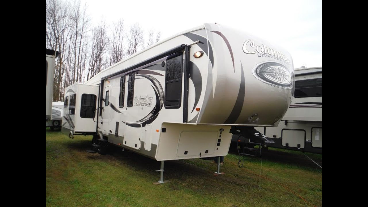 Best ideas about 2 Bedroom 5Th Wheel . Save or Pin 2016 Columbus pass Series 377MB Luxury 2 bedroom 5th Now.
