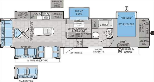 Best ideas about 2 Bedroom 5Th Wheel . Save or Pin Fifth Wheel Camper Floor Plans Lovely Bedroom Ideas Fabulous 2 Now.