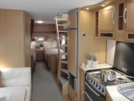 Best ideas about 2 Bedroom Rv . Save or Pin Two Story RV A Travel Trailer with 2 Floors and Walk Out Now.