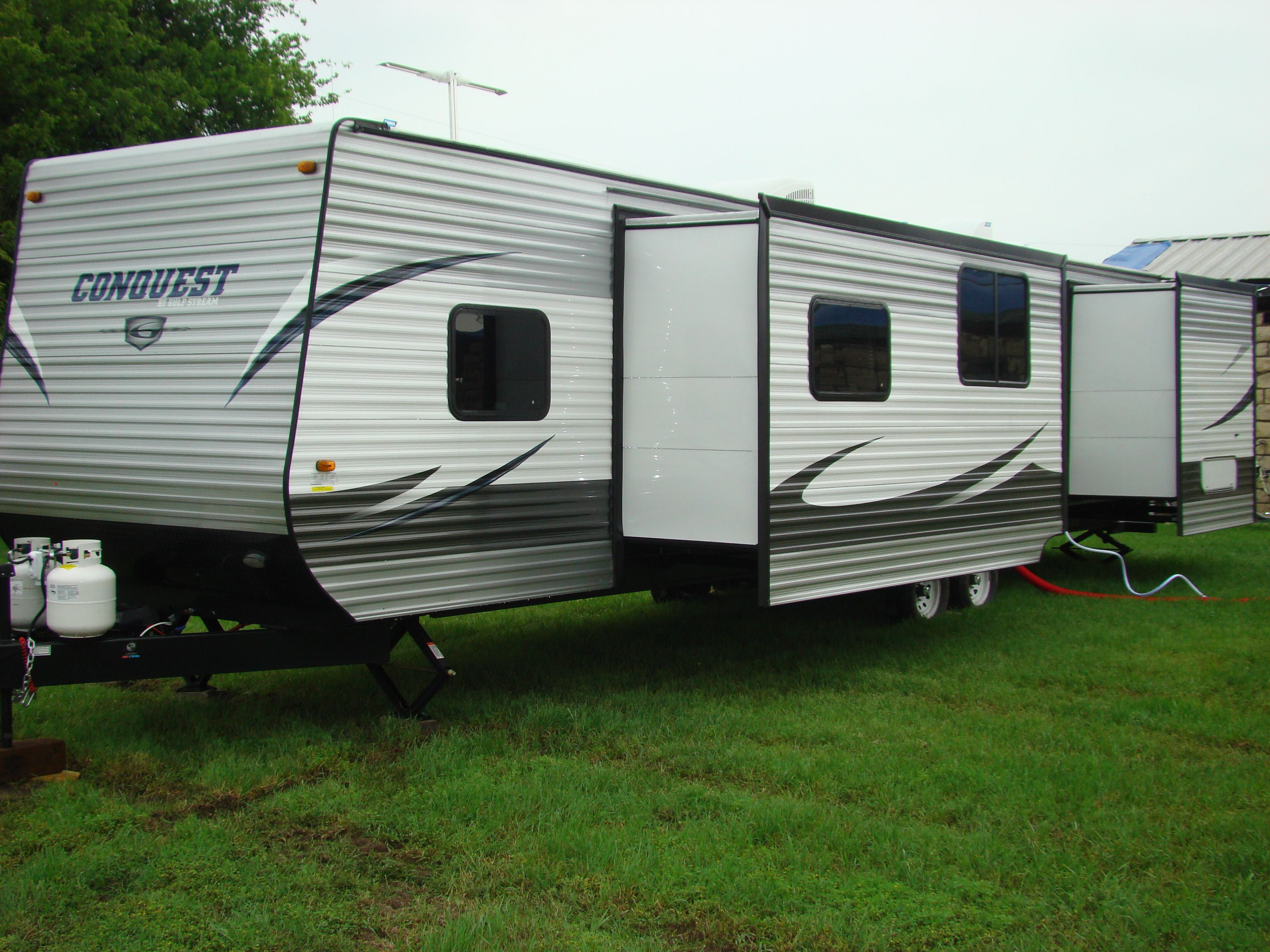 Best ideas about 2 Bedroom Rv . Save or Pin 2 Bedroom Campers 2011 Jayco Eagle 365bhs 3 Quad Slideout Now.