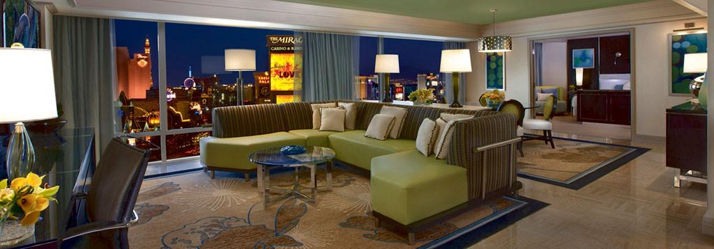 Best ideas about 2 Bedroom Suites Las Vegas . Save or Pin Las Vegas Mirage 1 & 2 Bedroom Suite Deals Now.