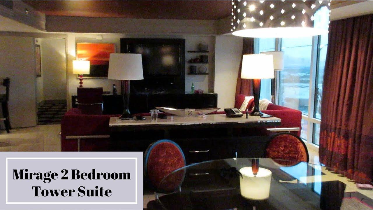 Best ideas about 2 Bedroom Suites Las Vegas . Save or Pin Mirage Las Vegas Two Bedroom Tower Suite Now.