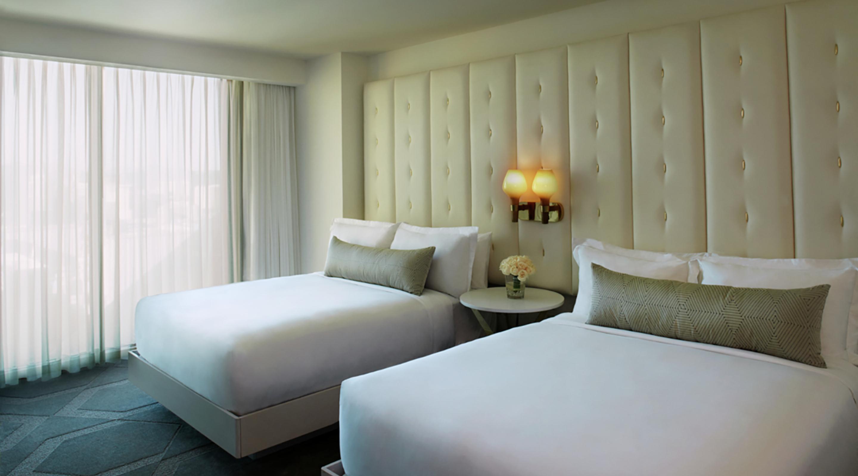 Best ideas about 2 Bedroom Suites Las Vegas . Save or Pin Two Bedroom Suite Delano Las Vegas Now.