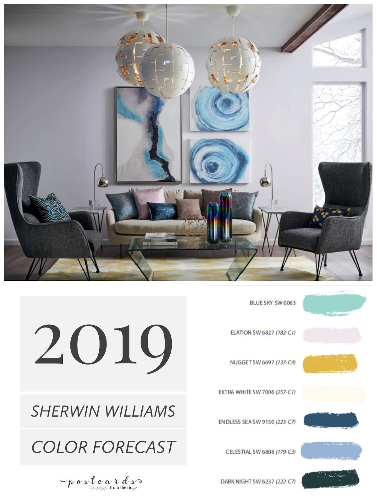 Best ideas about 2019 Paint Colors . Save or Pin 2019 Paint Color Forecast from Sherwin Williams Now.