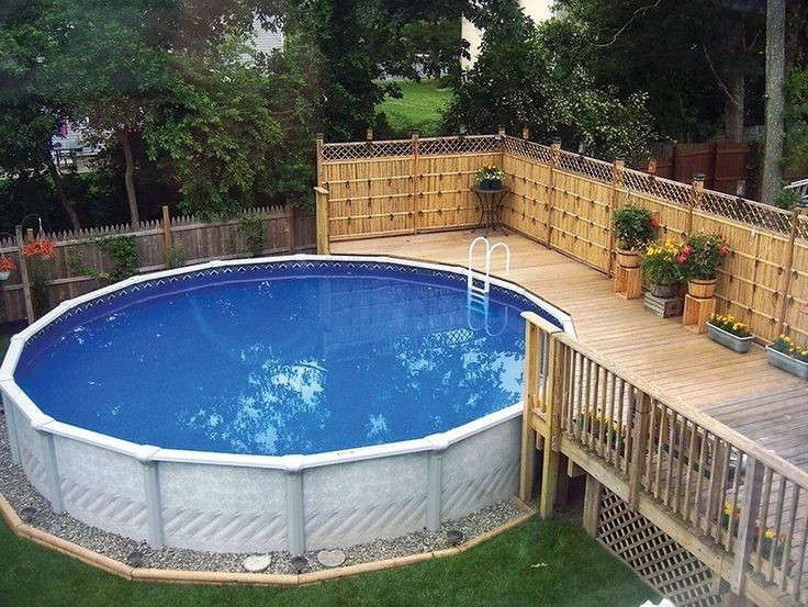 Best ideas about 24' Above Ground Pool . Save or Pin 17 Best ideas about Ground Pool Landscaping on Now.
