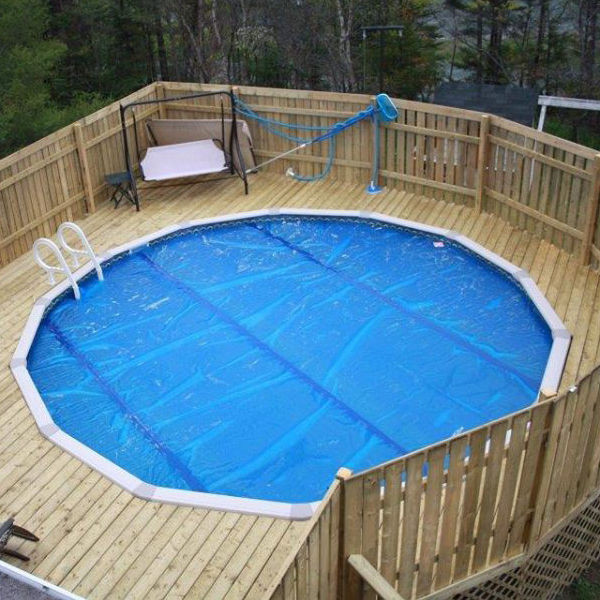 Best ideas about 24' Above Ground Pool . Save or Pin 24 Round Ground Swimming Pool Solar Cover Blanket 8 Now.