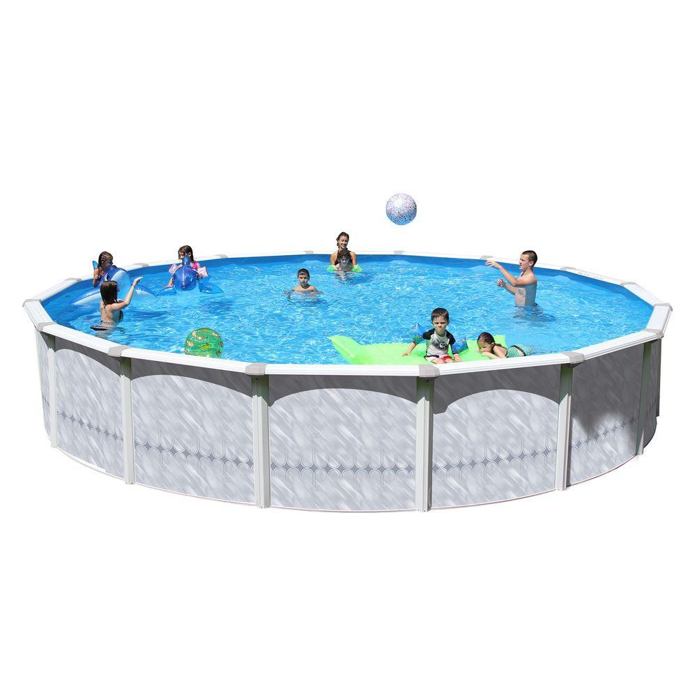 Best ideas about 24' Above Ground Pool . Save or Pin Heritage Pools Taos 24 ft x 52 in Round Pool Package TA Now.