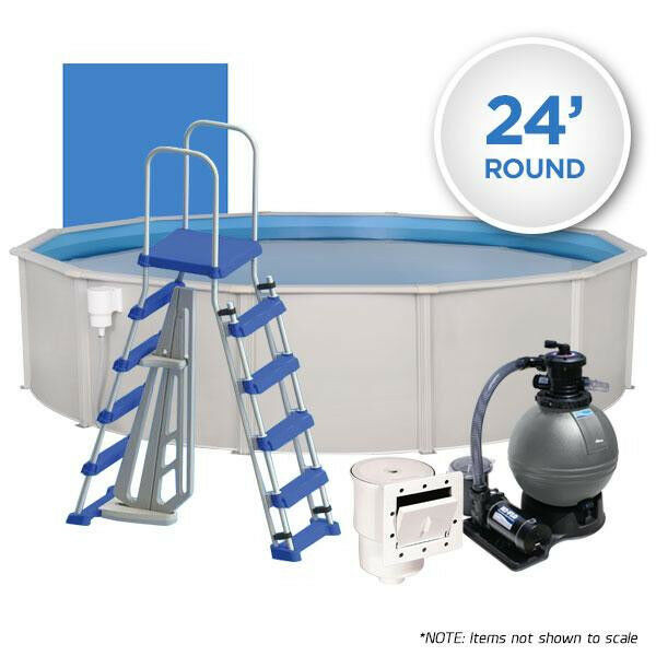Best ideas about 24' Above Ground Pool . Save or Pin Oceania Weekender 24 Round Simple Ground Swimming Now.