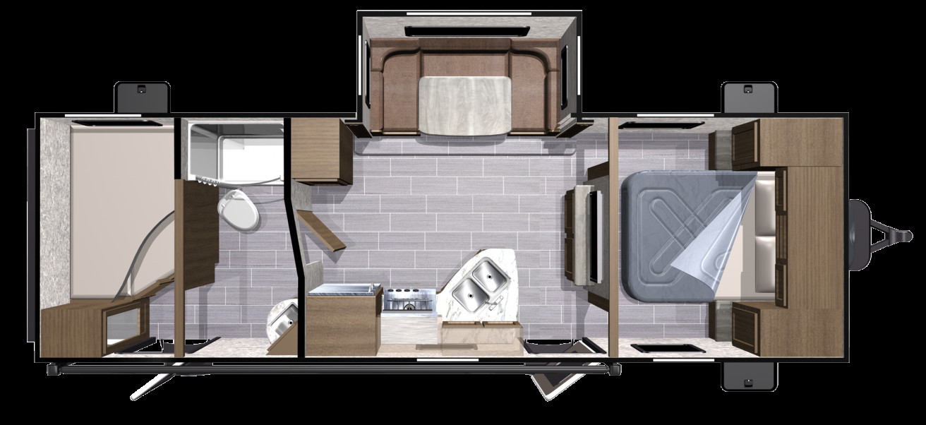 Best ideas about 3 Bedroom Rv . Save or Pin 3 Bedroom Travel Trailer Floor Plan Now.