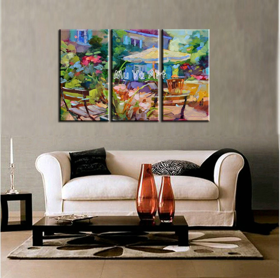 Best ideas about 3 Panel Wall Art . Save or Pin Abstract modern 3 panel canvas wall art famous artwork Now.