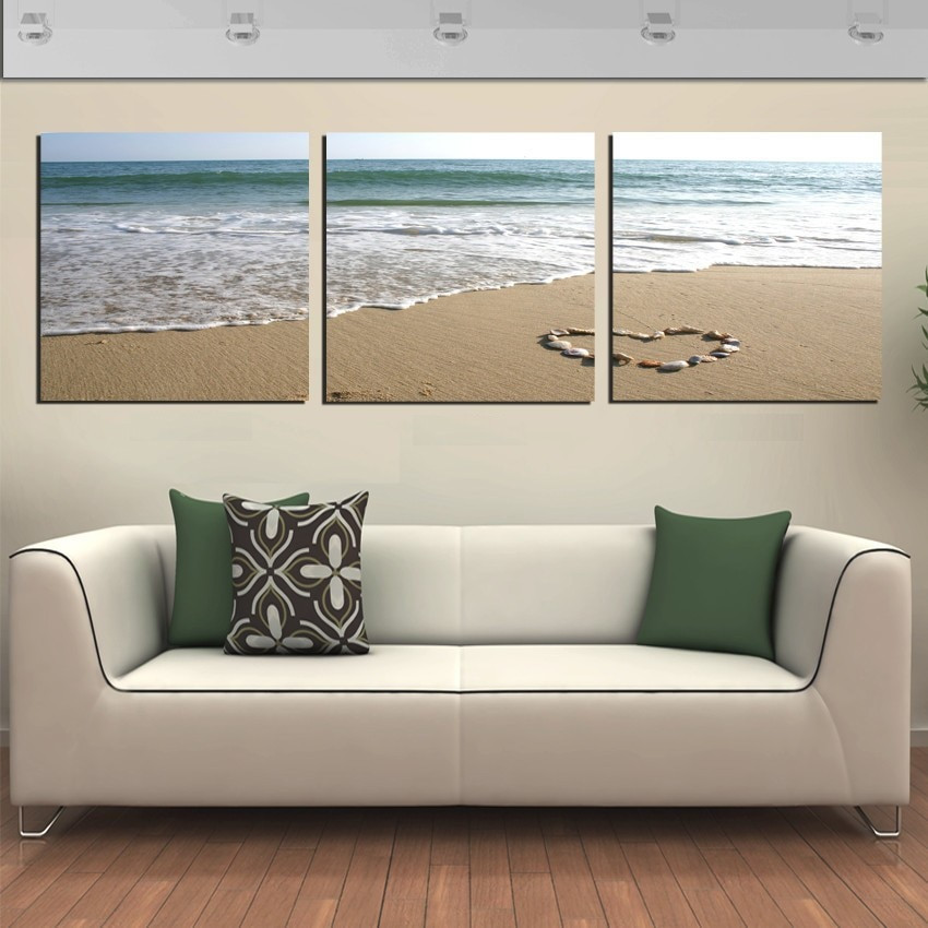 Best ideas about 3 Panel Wall Art . Save or Pin Aliexpress Buy 3 Panel Wall Art Romantic Now.