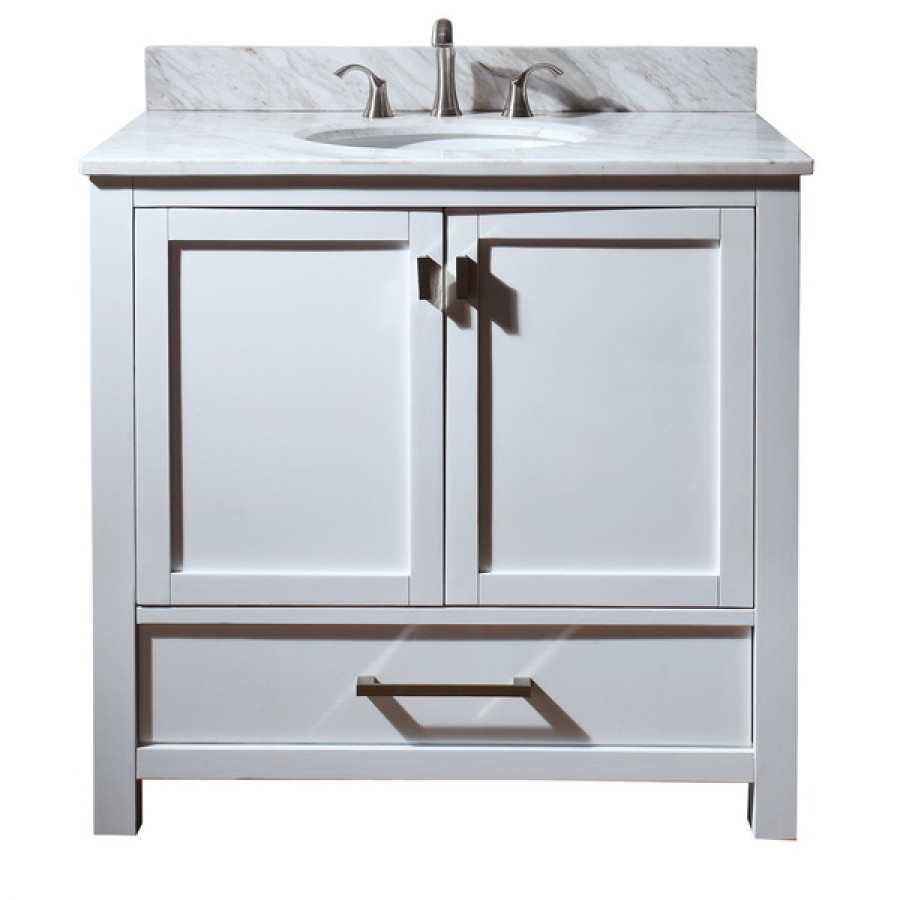 Best ideas about 36 Inch Bathroom Vanity . Save or Pin 36 Inch Single Sink Bathroom Vanity with Choice of Top Now.