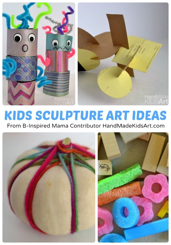 Best ideas about 3D Art Projects For Kids . Save or Pin 3D Art And Craft For Kids Now.